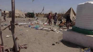 Houthi shelling kills a woman and wounds many others in Hays
