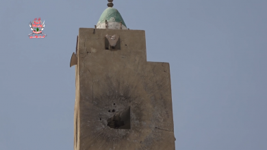 Houthis Shell a mosque in Hodeidah