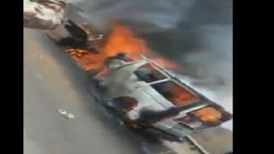 Fire kills 12 passengers in Yemen