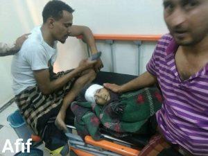 Children in Taiz killed by Houthi atrtillert 3