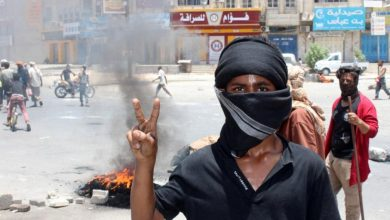 Southern Separatists in Aden