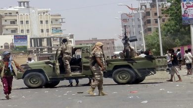 clashes in Aden
