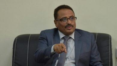 Yemeni Minister of Transport Saleh Al-Gibwani