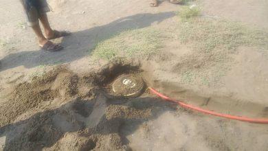 Houthi-laid minefield