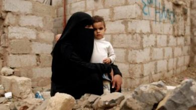 Women and children in Yemen