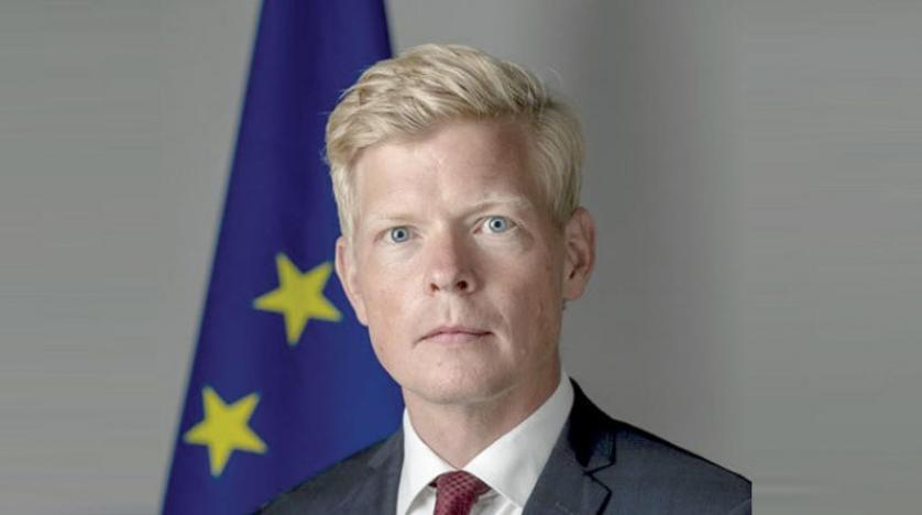 Swedish diplomat Hans Grundberg